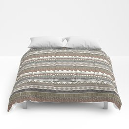 Tribal clay Comforters