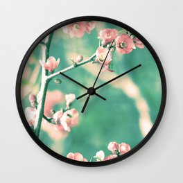 Softly Spring Love Wall Clock