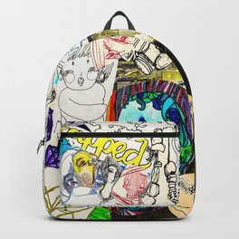 Collage 22 Backpack