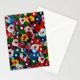Flowers Blooming Stationery Cards