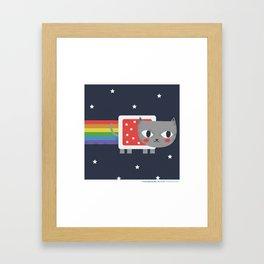 #30daysofcats 22/30 Framed Art Print