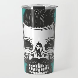 Barber Shop New York Travel Mug
