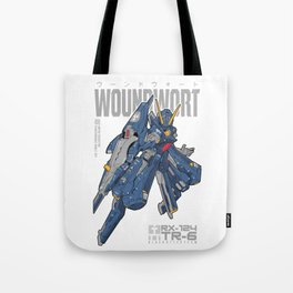 Woundwort Test Team color - MS Gundam Tote Bag