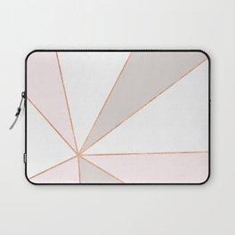 GEO SUNBURST ROSEGOLD PASTEL Laptop Sleeve