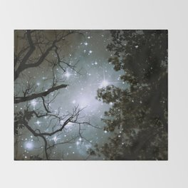 Starry Night Sky 2 Throw Blanket