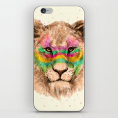 Lioness II iPhone & iPod Skin