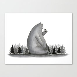 Giant Bear Canvas Print