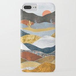 Desert Cold iPhone Case
