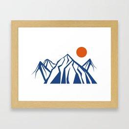 Napoleon Mountain Framed Art Print