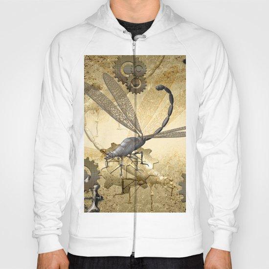 Steampunk, dragonflies Hoody