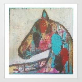The Soul of a Horse Art Print