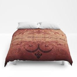 """""""Please. Please shut your hole."""" Austenland Comforters"""