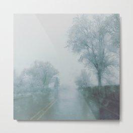 Taos rain Metal Print