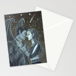 Feyre and Rhysand Stationery Cards