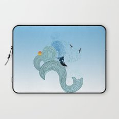 surfing 4 Laptop Sleeve