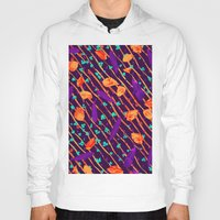 psychadelic Hoodies featuring Psychadelic Natural Pattern #5 by Andrej Balaz