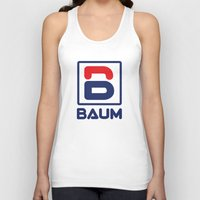 tenenbaum Tank Tops featuring Richie 'Baum' Tenenbaum T-Shirt by Tabner's