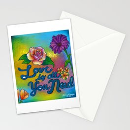 Love is all you need! Stationery Cards