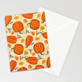 Pumpkins pattern I Stationery Cards