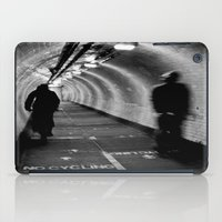 cycling iPad Cases featuring No Cycling by Dawn OConnor