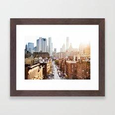 New York print Framed Art Print
