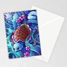 Water Turtle Stationery Cards