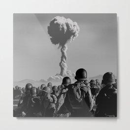 Atom/Adam Metal Print