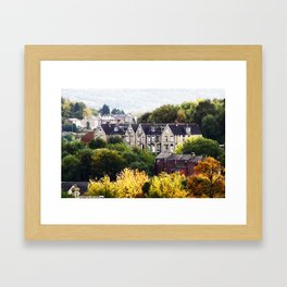 Autumn in West Yorkshire Framed Art Print