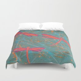 More Darwin Dragonflies Duvet Cover