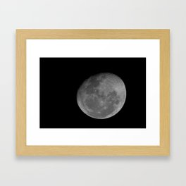 Moon 2 Framed Art Print
