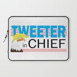 Tweeter in Chief Laptop Sleeve