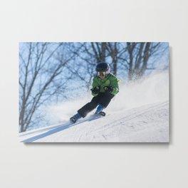 Snow Day 12 Metal Print