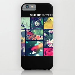 Nature pictures iPhone Case