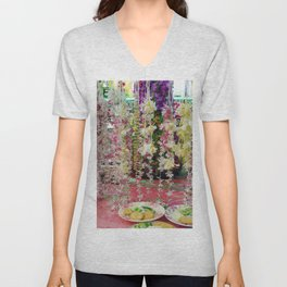 Buddhist Offerings Unisex V-Neck