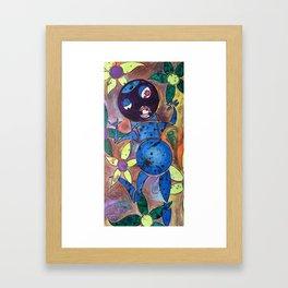 flower frolicker Framed Art Print