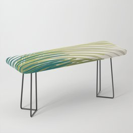 Palm Silhouette Series - Hawaiian Greenery Palette Bench