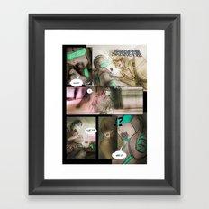 comic strip - chimericall Framed Art Print