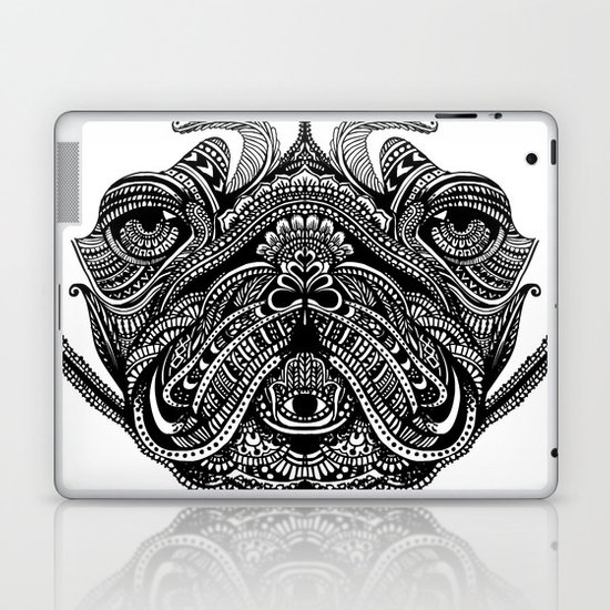 Henna of Pugly Laptop & iPad Skin