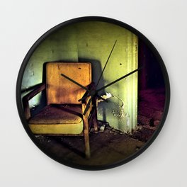 Where They Sat.... Wall Clock