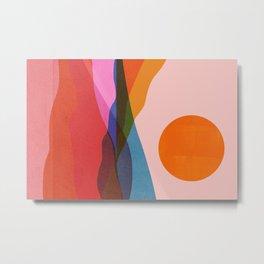 Abstraction_OCEAN_Beach_Minimalism_001 Metal Print