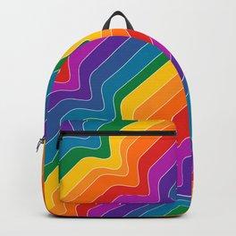 Rainbow Wave Backpack