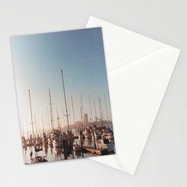Sailboats-Film Camera Stationery Cards