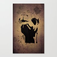 camel Canvas Prints featuring camel by Mono Ahn