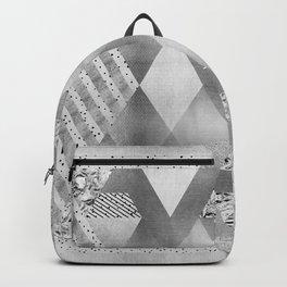 ETHNO Elegance in silver Backpack
