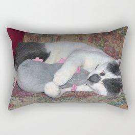 Sleeping Kitten Rectangular Pillow