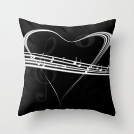 DT MUSIC 6 Throw Pillow