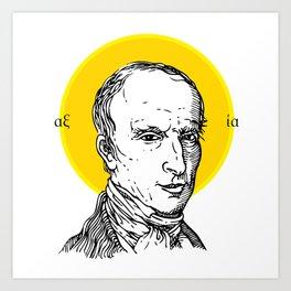 St. Cauchy Art Print