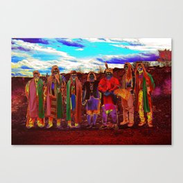 Pow Wow in Texas Canvas Print