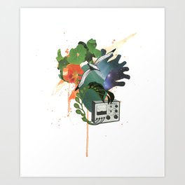 Cardiac Abyss Art Print