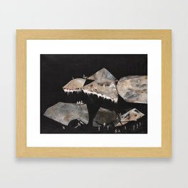 Constellations at the Edge of the World  Framed Art Print
